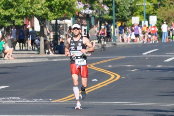 Kyle Ironman Canada Run