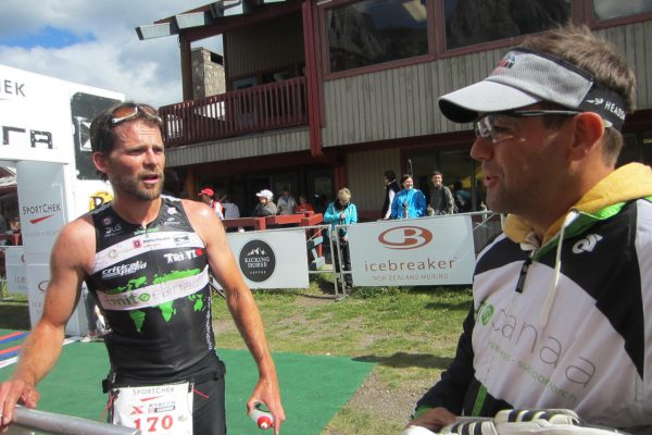 Kyle Race Finish line
